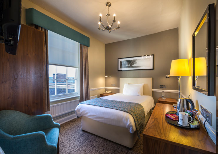 Classic Single Room | The Three Swans Hotel, Eatery and ...