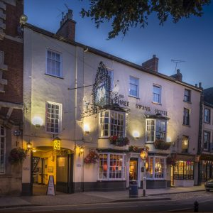 Three Swans Hotel Market Harborough Front